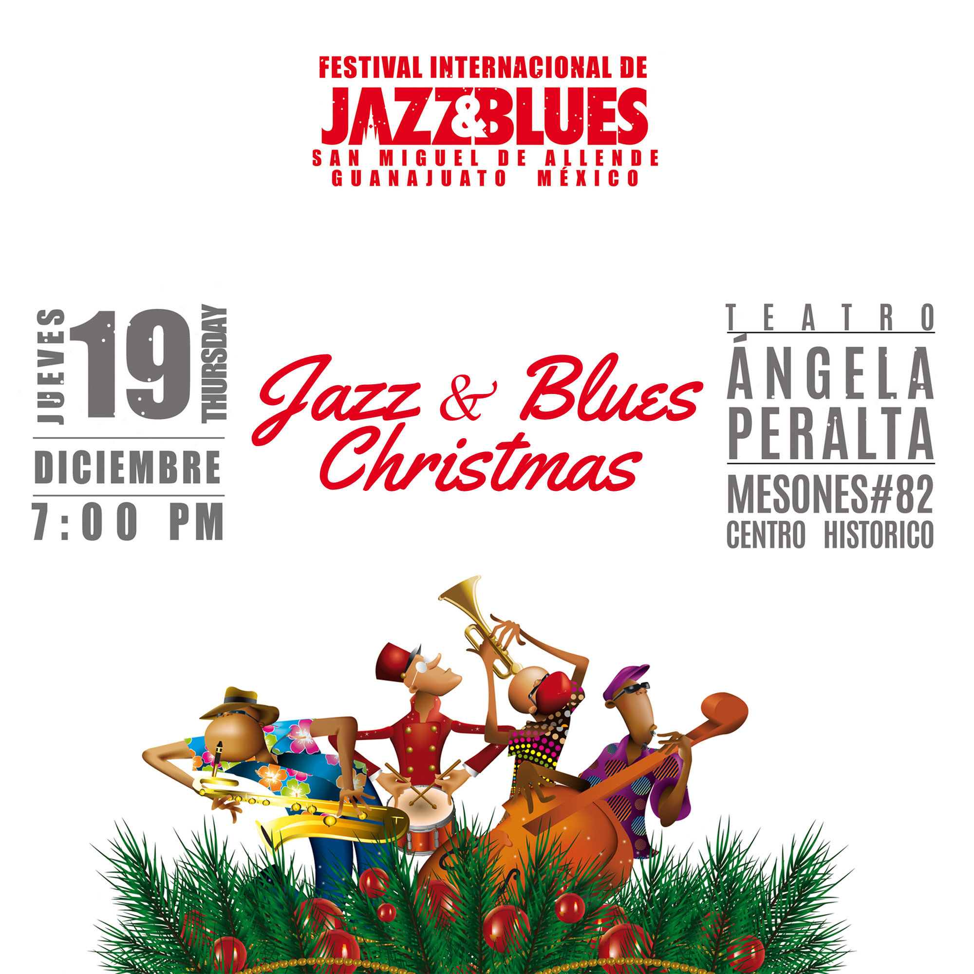 Jazz and Blues Christmas Concert, San Miguel Jazz Festival