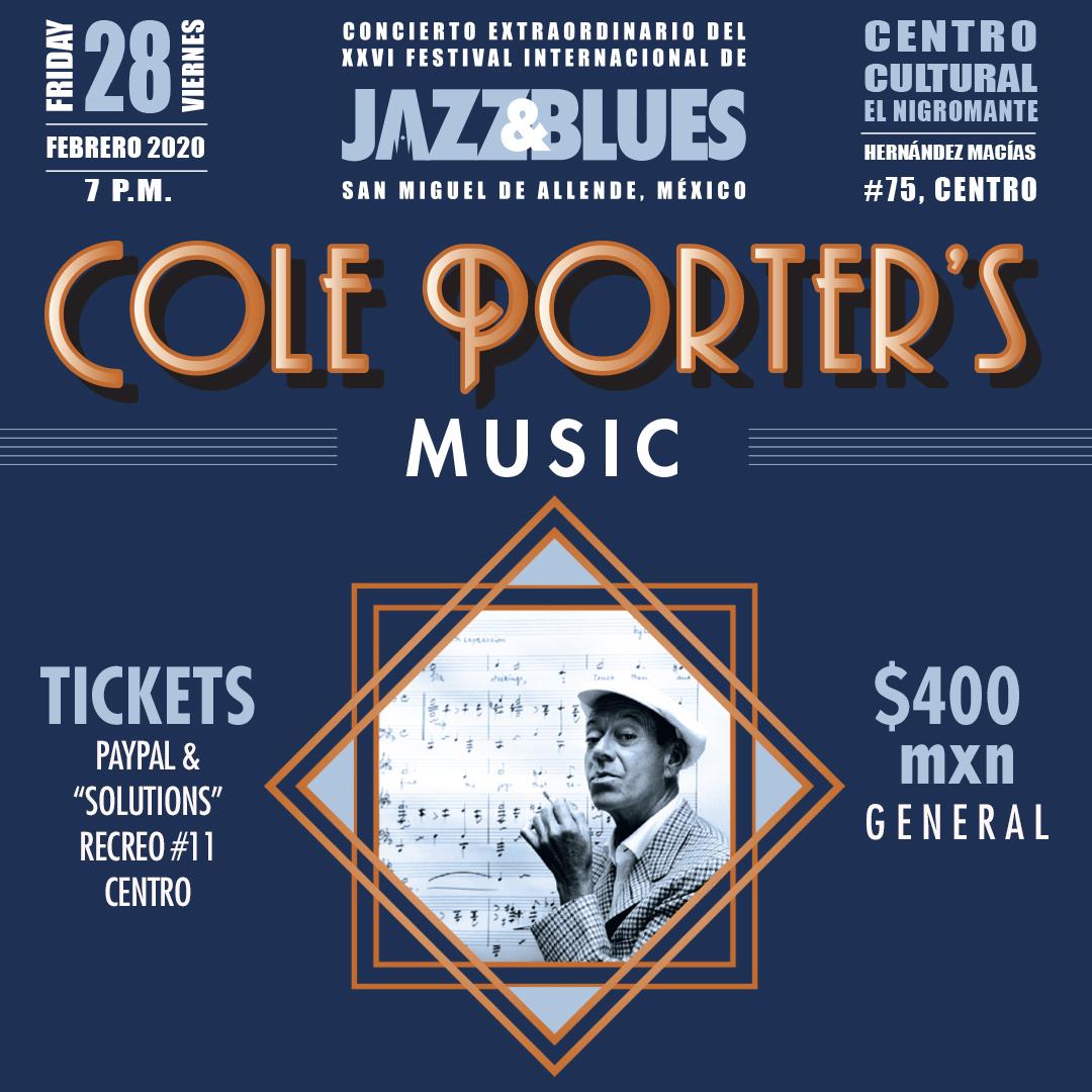 Cole Porters Music, San Miguel Jazz Festival Concert